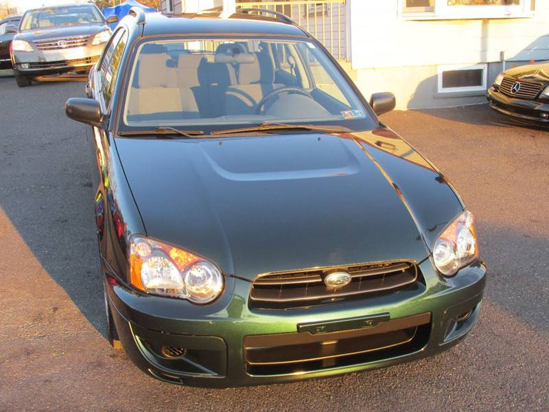 2004 subaru impreza awd 2 5 ts 4dr sport wagon in. Black Bedroom Furniture Sets. Home Design Ideas