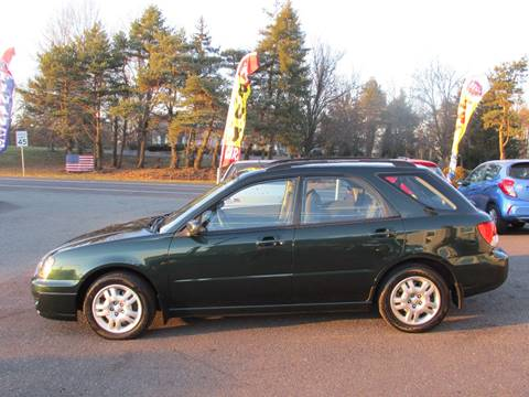 2004 Subaru Impreza for sale at GEG Automotive in Gilbertsville PA
