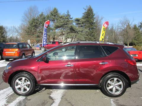 2009 Nissan Murano for sale at GEG Automotive in Gilbertsville PA