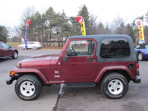 2004 Jeep Wrangler for sale at GEG Automotive in Gilbertsville PA