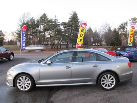 2012 Audi A6 for sale at GEG Automotive in Gilbertsville PA