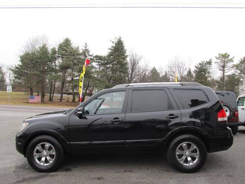 2009 Kia Borrego for sale at GEG Automotive in Gilbertsville PA