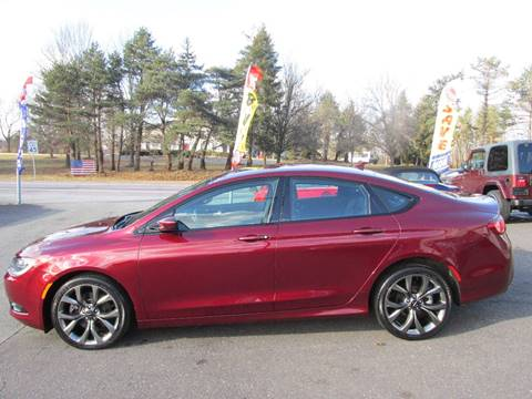 2016 Chrysler 200 for sale at GEG Automotive in Gilbertsville PA