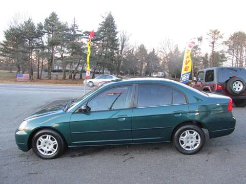 2001 Honda Civic for sale at GEG Automotive in Gilbertsville PA