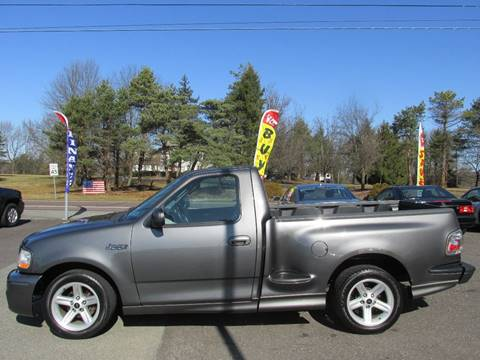 2003 Ford F-150 SVT Lightning for sale at GEG Automotive in Gilbertsville PA