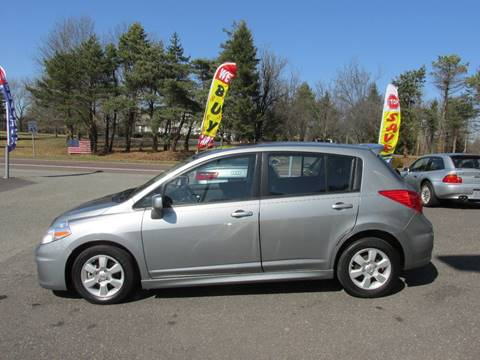 2009 Nissan Versa for sale at GEG Automotive in Gilbertsville PA