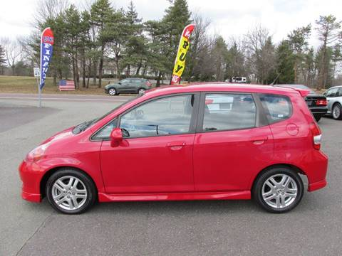 2007 Honda Fit for sale at GEG Automotive in Gilbertsville PA