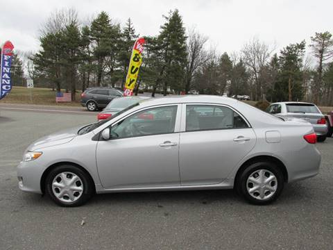 2010 Toyota Corolla for sale at GEG Automotive in Gilbertsville PA