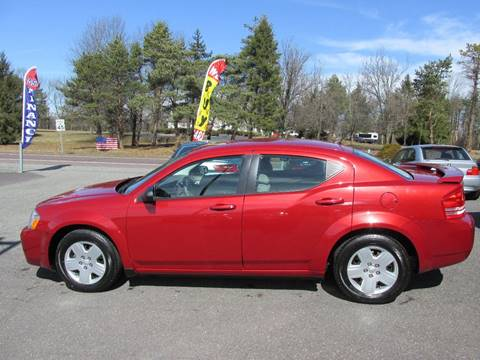 2008 Dodge Avenger for sale at GEG Automotive in Gilbertsville PA