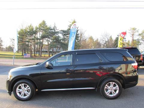 2013 Dodge Durango for sale at GEG Automotive in Gilbertsville PA