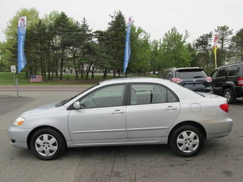 2006 Toyota Corolla for sale at GEG Automotive in Gilbertsville PA