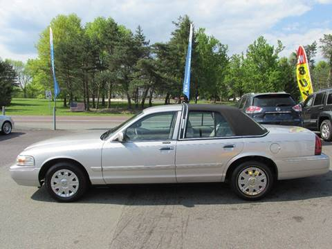 2007 Mercury Grand Marquis for sale at GEG Automotive in Gilbertsville PA