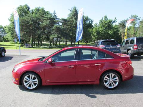 2013 Chevrolet Cruze for sale at GEG Automotive in Gilbertsville PA