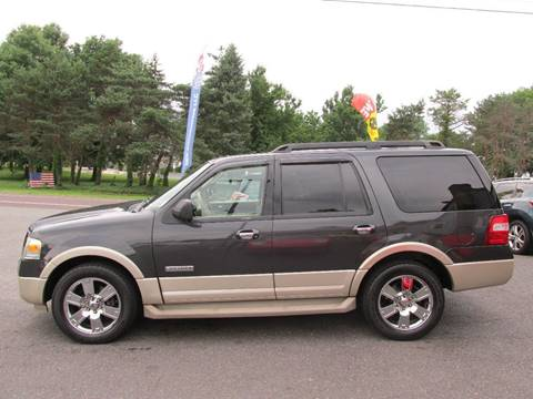 2007 Ford Expedition for sale at GEG Automotive in Gilbertsville PA