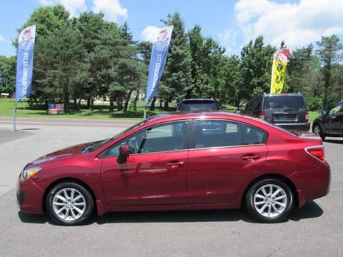 2012 Subaru Impreza for sale at GEG Automotive in Gilbertsville PA