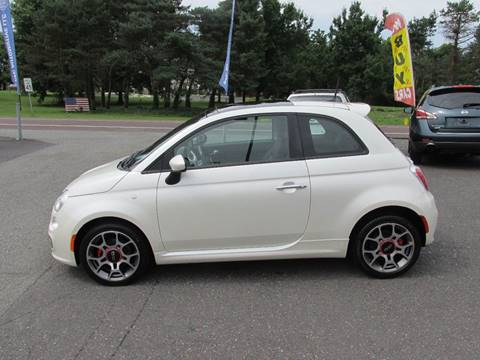 2012 FIAT 500 for sale at GEG Automotive in Gilbertsville PA