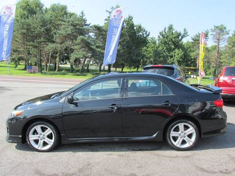 2013 Toyota Corolla for sale at GEG Automotive in Gilbertsville PA