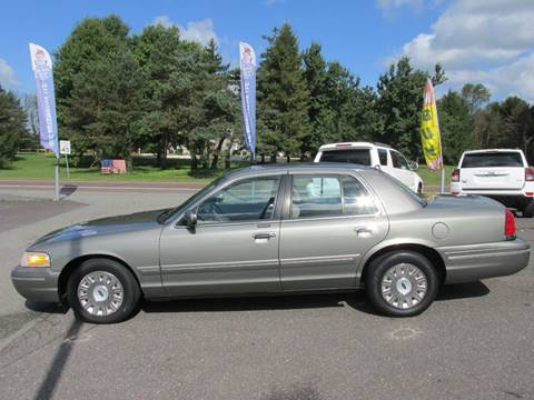 2003 Ford Crown Victoria for sale at GEG Automotive in Gilbertsville PA