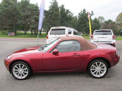2008 Mazda MX-5 Miata for sale at GEG Automotive in Gilbertsville PA