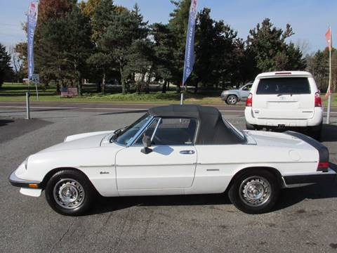 1986 Alfa Romeo Spider for sale at GEG Automotive in Gilbertsville PA