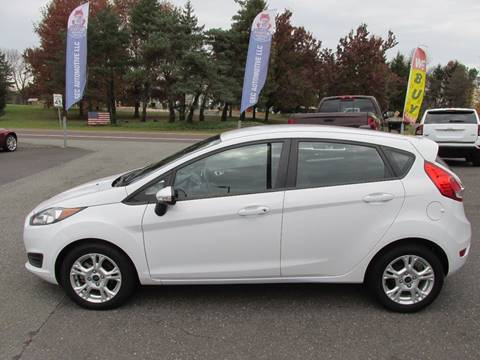 2015 Ford Fiesta for sale at GEG Automotive in Gilbertsville PA