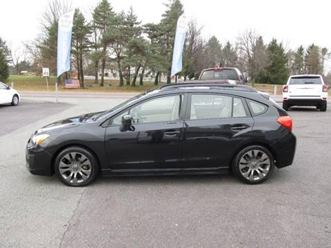 2013 Subaru Impreza for sale at GEG Automotive in Gilbertsville PA