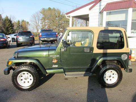 1997 Jeep Wrangler for sale at GEG Automotive in Gilbertsville PA