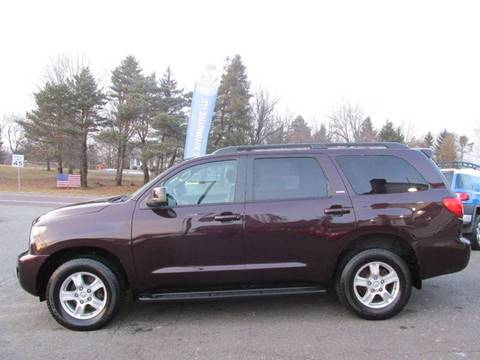2012 Toyota Sequoia for sale at GEG Automotive in Gilbertsville PA