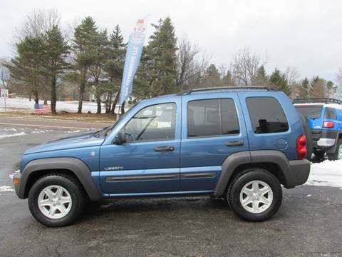 2004 Jeep Liberty for sale at GEG Automotive in Gilbertsville PA