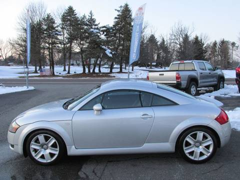 2002 Audi TT for sale at GEG Automotive in Gilbertsville PA