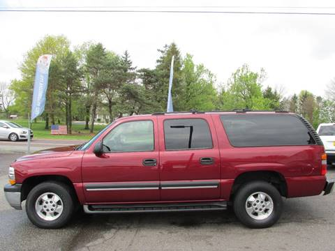 2003 Chevrolet Suburban for sale at GEG Automotive in Gilbertsville PA