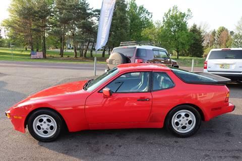 1987 Porsche 944 for sale at GEG Automotive in Gilbertsville PA