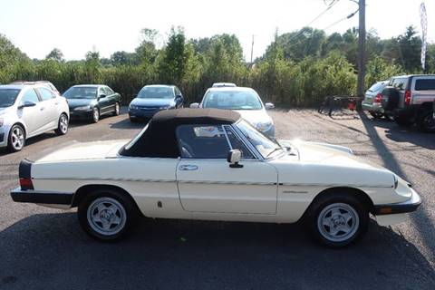 1983 Alfa Romeo Spider for sale at GEG Automotive in Gilbertsville PA