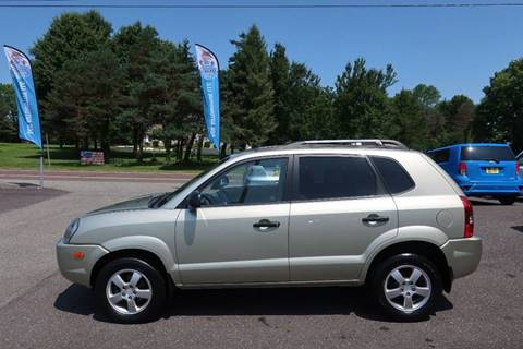 2007 Hyundai Tucson for sale at GEG Automotive in Gilbertsville PA