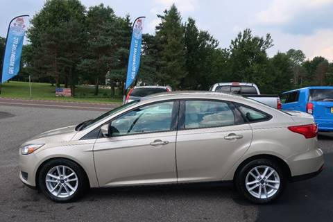2017 Ford Focus for sale at GEG Automotive in Gilbertsville PA