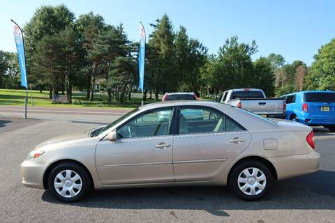 2004 Toyota Camry for sale at GEG Automotive in Gilbertsville PA