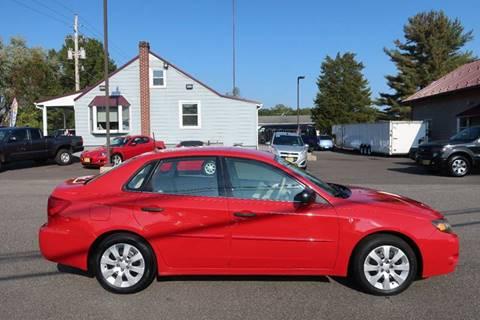 2008 Subaru Impreza for sale at GEG Automotive in Gilbertsville PA