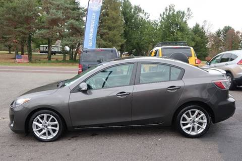 2013 Mazda MAZDA3 for sale at GEG Automotive in Gilbertsville PA
