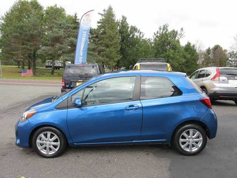 2015 Toyota Yaris for sale at GEG Automotive in Gilbertsville PA