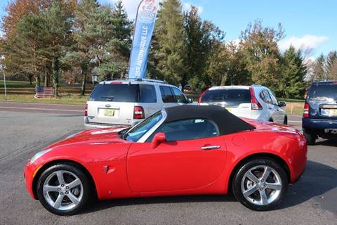 2007 Pontiac Solstice for sale in Gilbertsville, PA