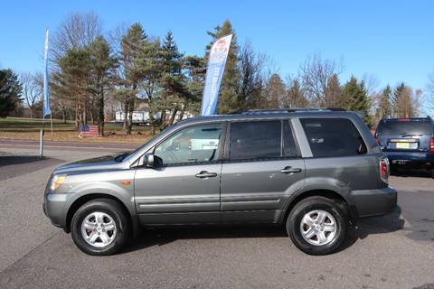 2008 Honda Pilot for sale at GEG Automotive in Gilbertsville PA