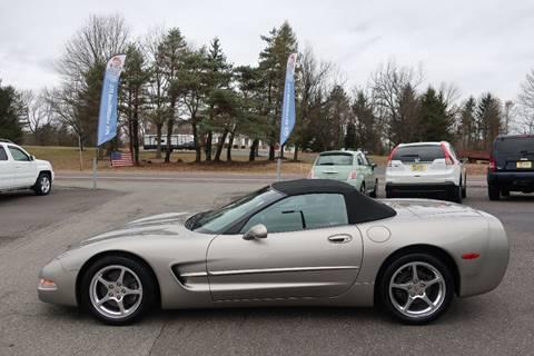 2001 Chevrolet Corvette for sale at GEG Automotive in Gilbertsville PA