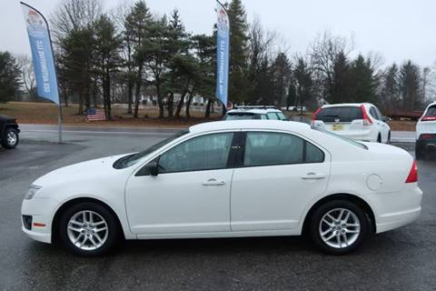 2011 Ford Fusion for sale at GEG Automotive in Gilbertsville PA