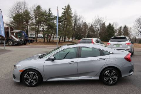 2017 Honda Civic for sale at GEG Automotive in Gilbertsville PA