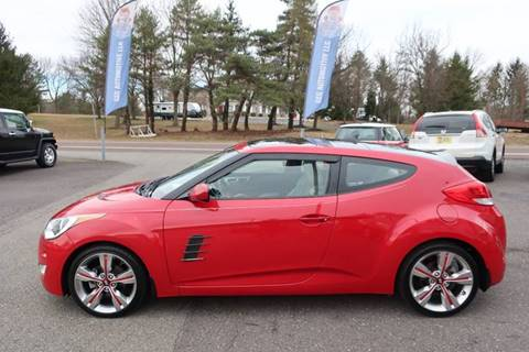 2013 Hyundai Veloster for sale at GEG Automotive in Gilbertsville PA