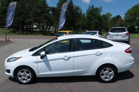 2014 Ford Fiesta for sale at GEG Automotive in Gilbertsville PA