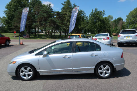 2008 Honda Civic for sale at GEG Automotive in Gilbertsville PA