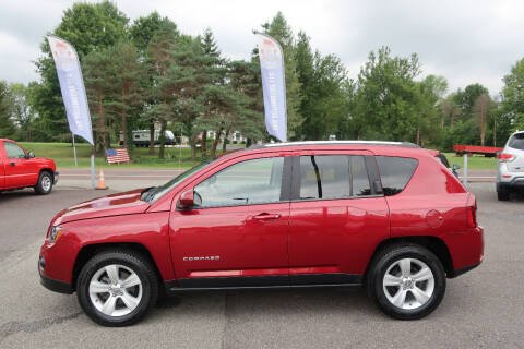 2014 Jeep Compass for sale at GEG Automotive in Gilbertsville PA