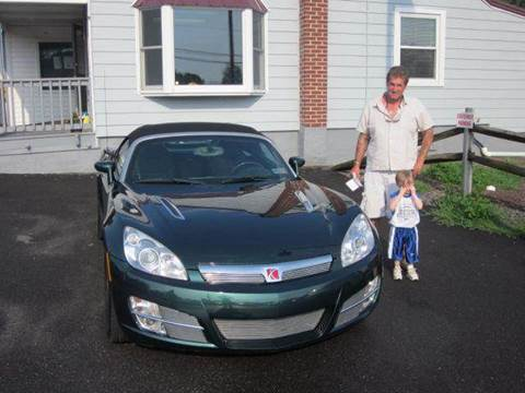 2008 Saturn SKY for sale at GEG Automotive in Gilbertsville PA