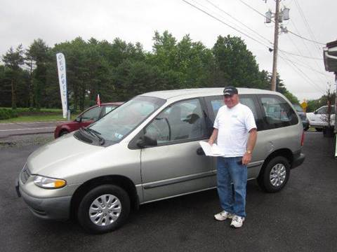 1999 Plymouth Voyager for sale at GEG Automotive in Gilbertsville PA